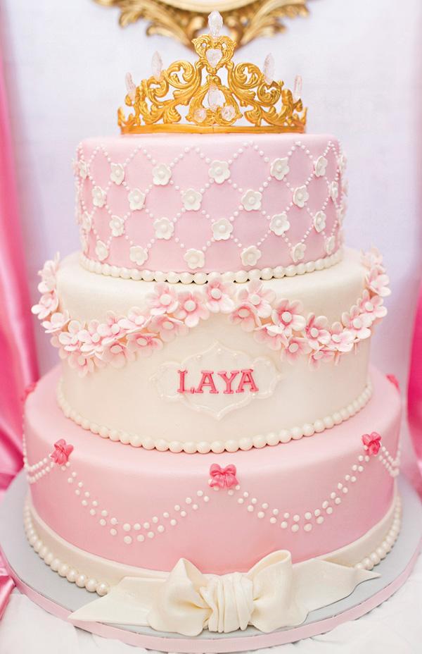 Princesa Rosa {dia de festa} - bolo / reprodução internet