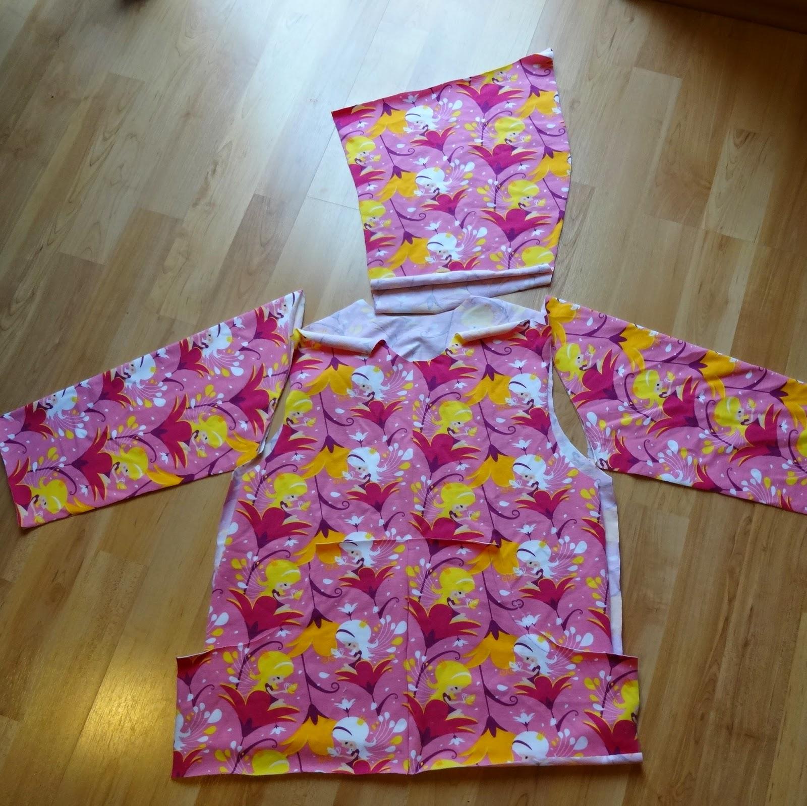 Kapuzenjacke Jersey alles für selbermacher Elfenschwestern
