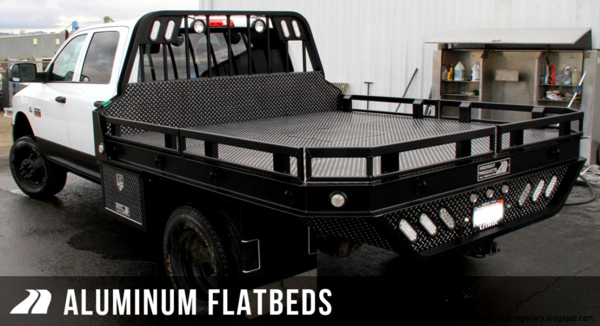Highway Products Inc   Aluminum Service Bodies Flatbeds Truck