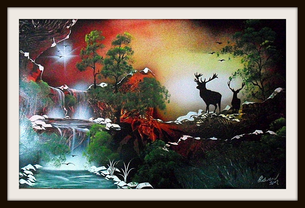 Aerosolgrafias pinturas con aerosoles spray painting - Pintura con spray ...