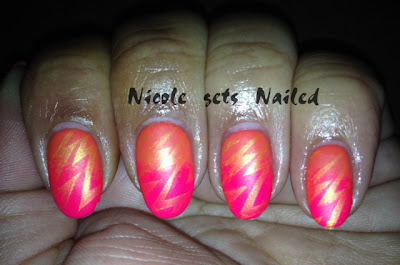 Neon Orange and Pink Gradient