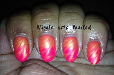 Neon Orange and Pink Gradient