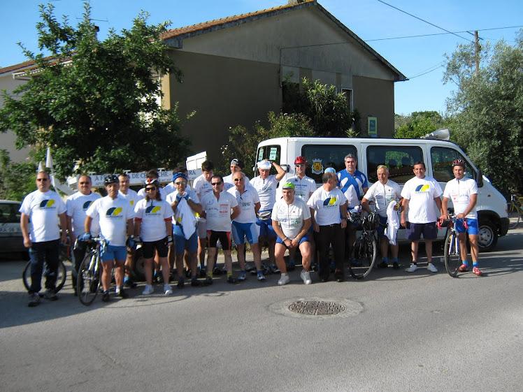 8º CONVIVIO DE CICLOTURISMO DA A.D.R. VILANOVENSE EM 12 DE JUNHO DE 2011