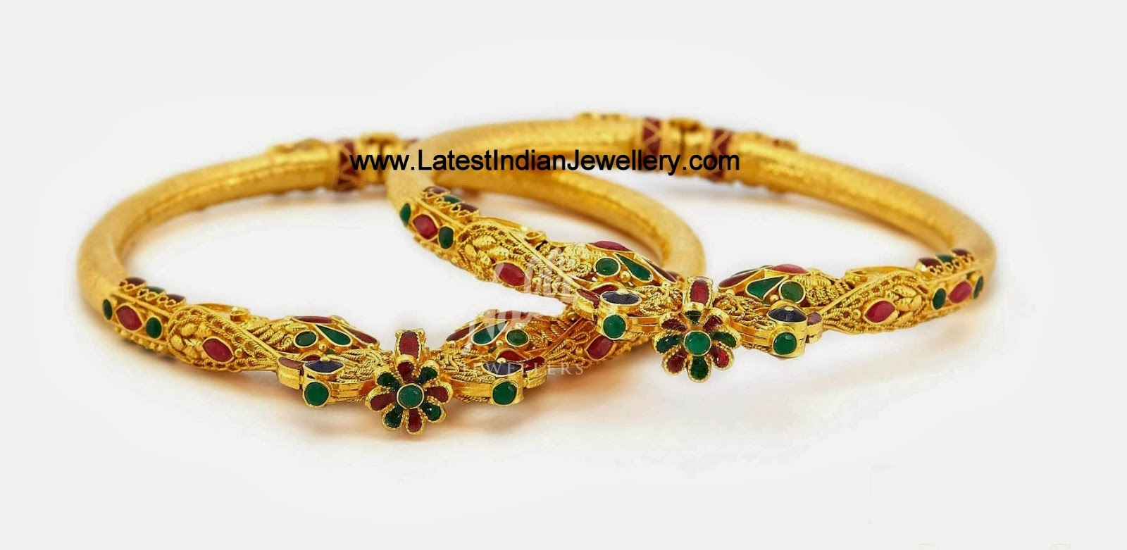 Antique Gold Kada Designs