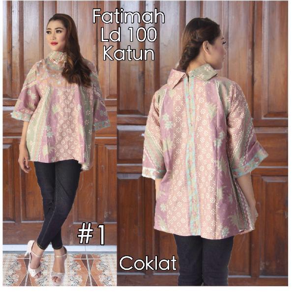 Harga Model Baju Batik Blouse Kelelawar 34ff0f5599