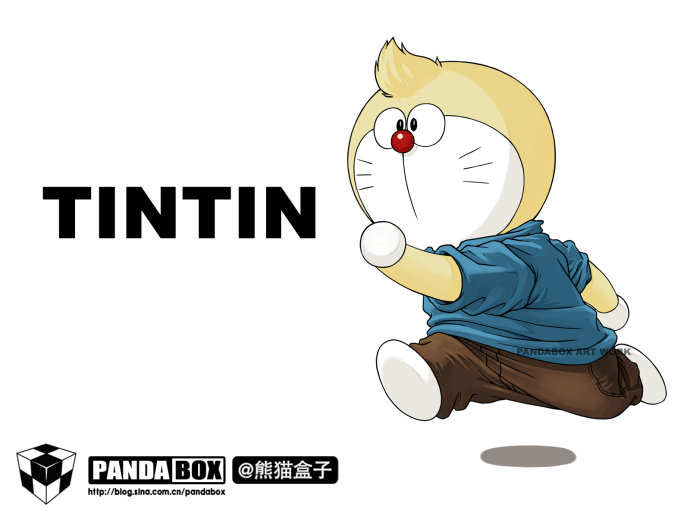 CosRain.Com DORAEMON&#65287;s COSPLAY - TIN TIN