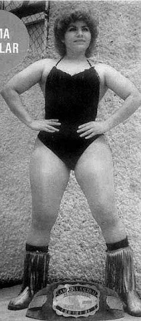 Irma Aguilar - Lucha Libre