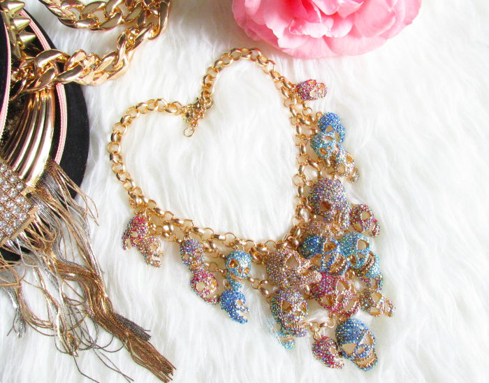 Review: Jane Stone - Luxurious Skeleton/Skull Statement Necklace