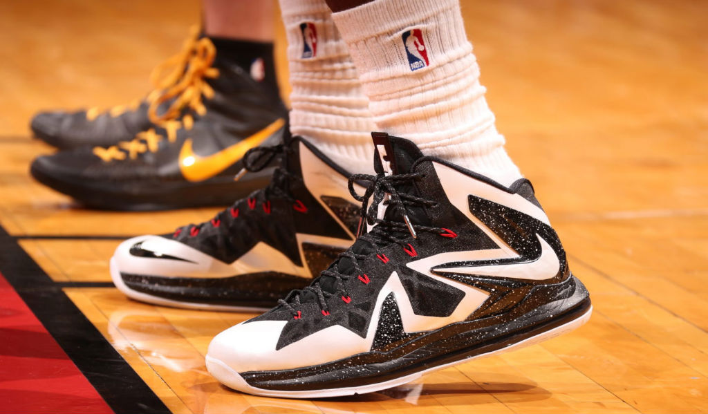 a0f6f164f3e0 A Little Late But Still Great LeBron James Wins Game 1 In Nike LeBron X PS  Elite PE