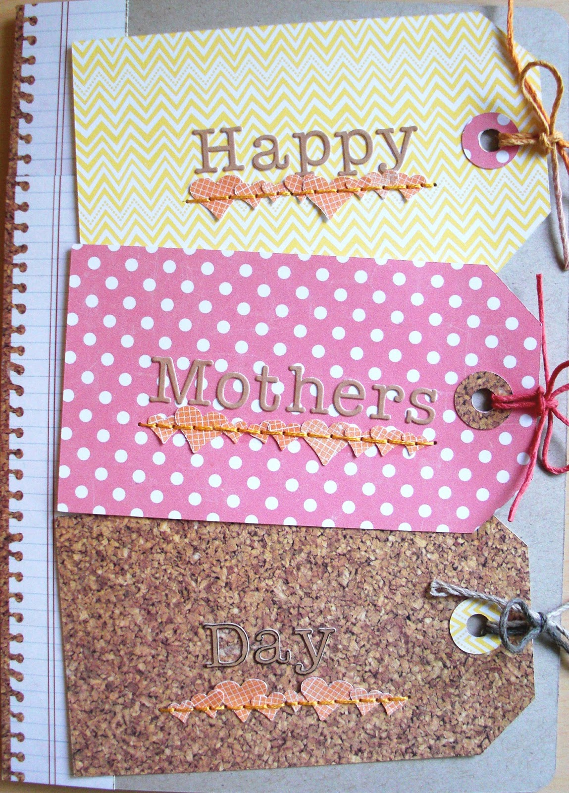 scrapper emily mothers day cards and a baby shower card