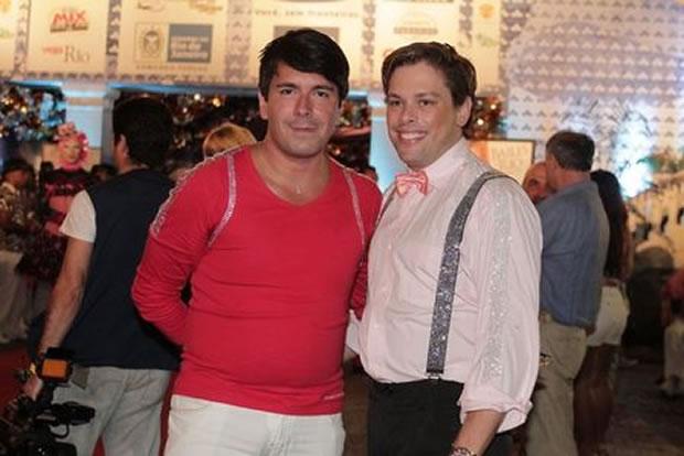 Bruno Chateaubriand e André Ramos (Foto: Marcello Sá Barretto / Photo Rio News)
