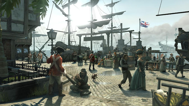 Port Royal in the videogame Pirates of the Caribbean:at the world's end