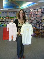 Pajama Storytime Pajama Program Donations-Brandi Whitesell, Director of Media-UP Library