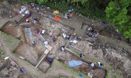 excavaciones bluestonehenge