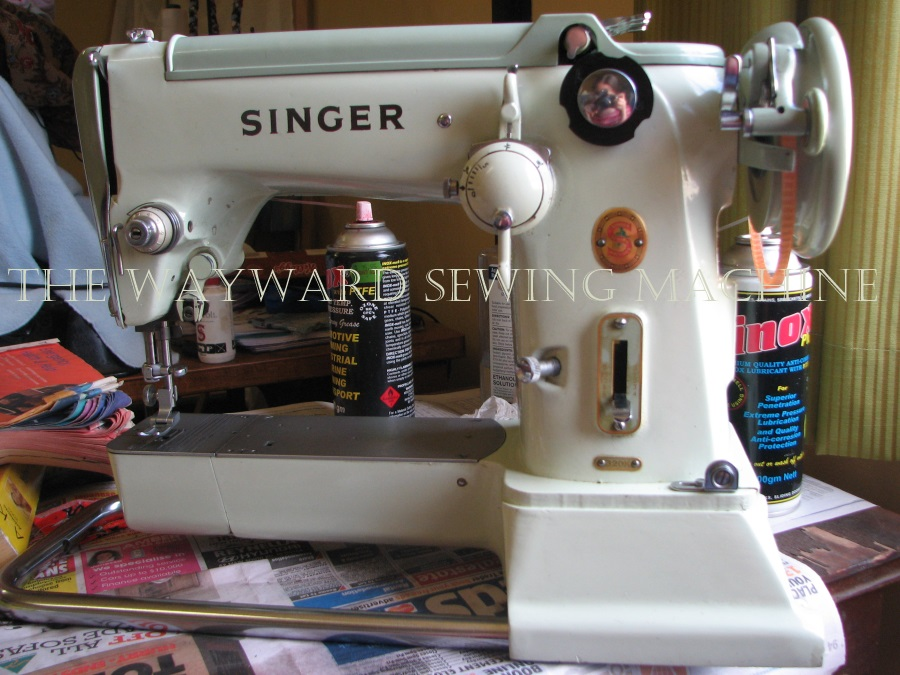 The Wayward Sewing Machine Retiming The Singer 40K Fascinating Where Can I Buy A Singer Sewing Machine