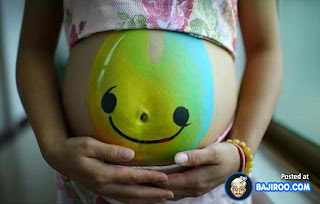 Body Paintings For Pregnant Woman