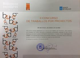 PREMIO II CONCURSO DE TRABALLO POR PROXECTOS