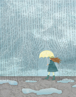 The Voice of the Rain freebie download illustration