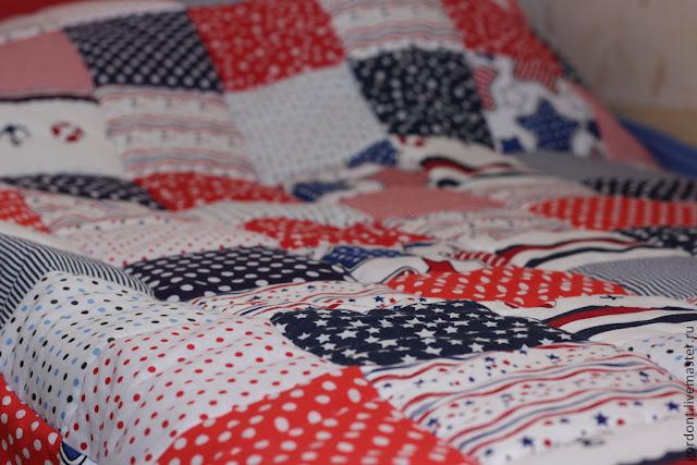 пэчворк, лоскутное одеяло, детская