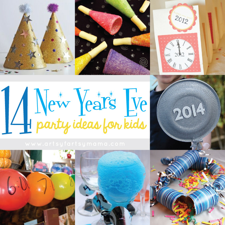 14 New Years Eve Party Ideas for Kids