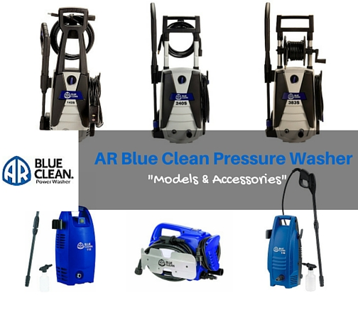 "AR Blue Clean Pressure Washer ""Models & Accessories"""