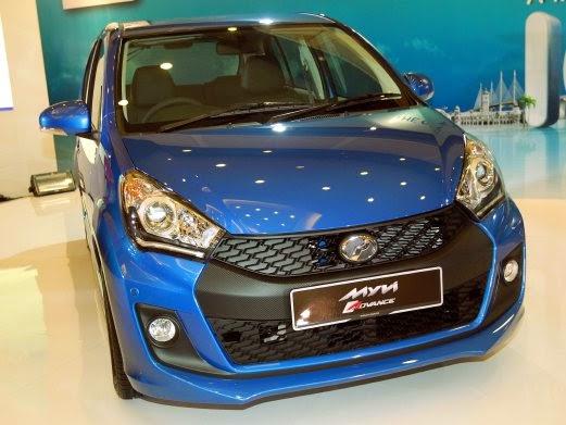 5 Foto Menakjubkan Model Terbaru Perodua Myvi