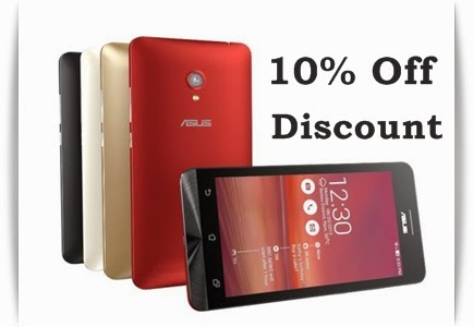 Buy Asus Zenphones at 10% discount offer on Flipkart