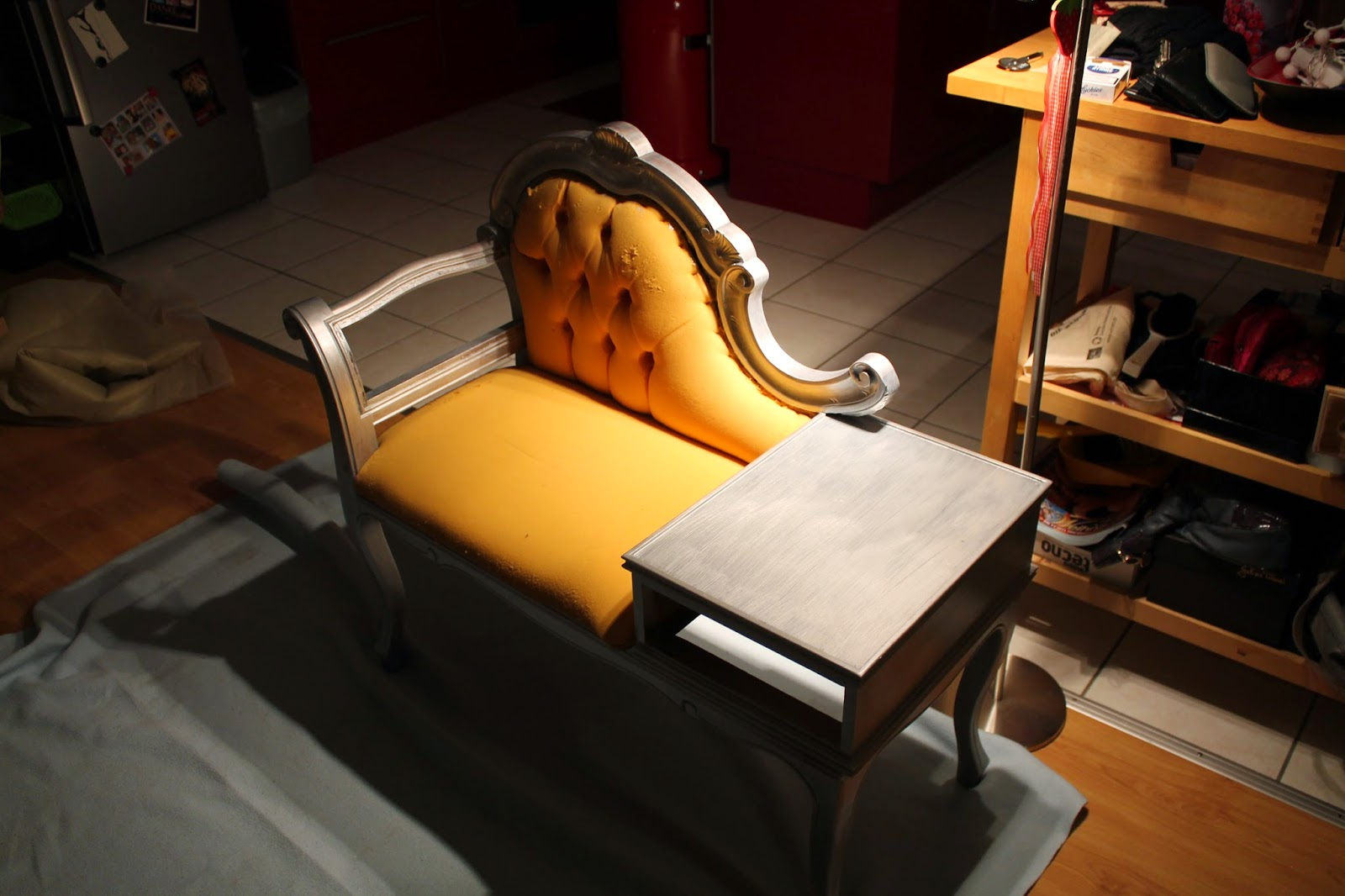 sonnenwerkstatt m bel telefonbank. Black Bedroom Furniture Sets. Home Design Ideas