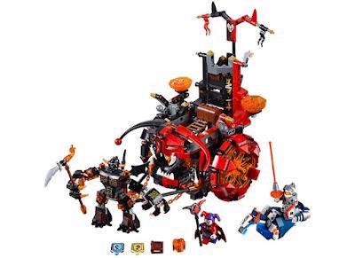 TOYS : JUGUETES - LEGO Nexo Knights  70316 Jestro's Evil Mobile Jestro's Evil Mobile Jestro's Evil Mobile  Producto Oficial 2016 | Piezas: 658 | Edad: 8-14 años  Comprar en Amazon España & buy Amazon USA