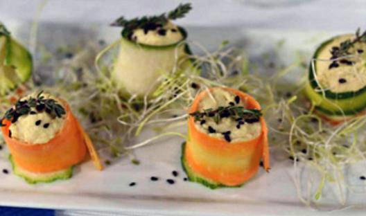 Canapes veganos muy faciles y ricos recetas de cocina for Canapes faciles y ricos