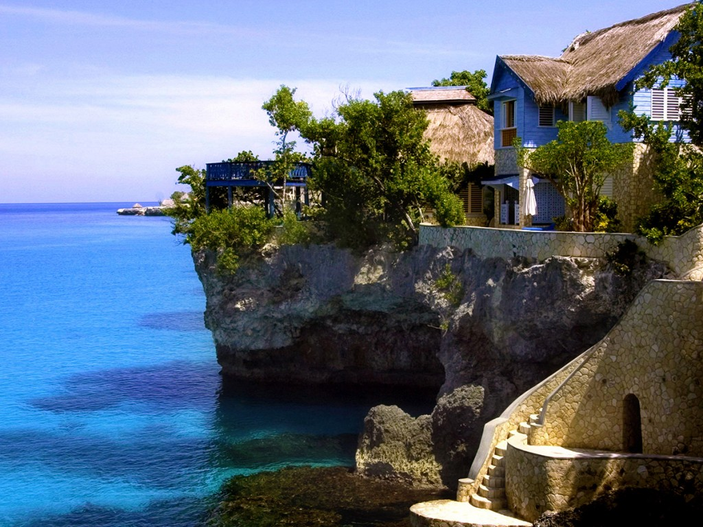 """The Caves"" Hotel, Jamaica"