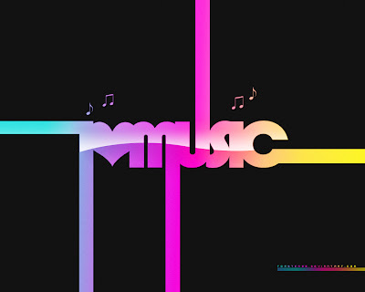 wallpapers and backgrounds music - Typography Music