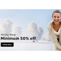 Buy Winter Clothing at Flat 50% OFF + Extra 5% OFF ( App Offer )