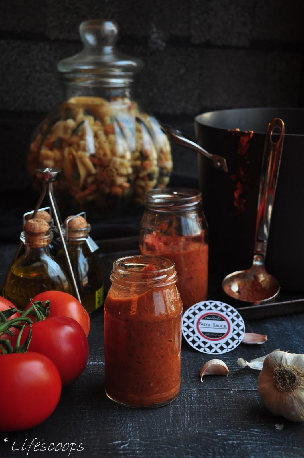 ... Roasted Tomato and Garlic Pasta Sauce (Marinara sauce/Spaghetti sauce