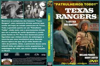 TEXAS RANGERS (PATRULHEIROS TODDY) - A JUSTIÇA DOS RANGERS
