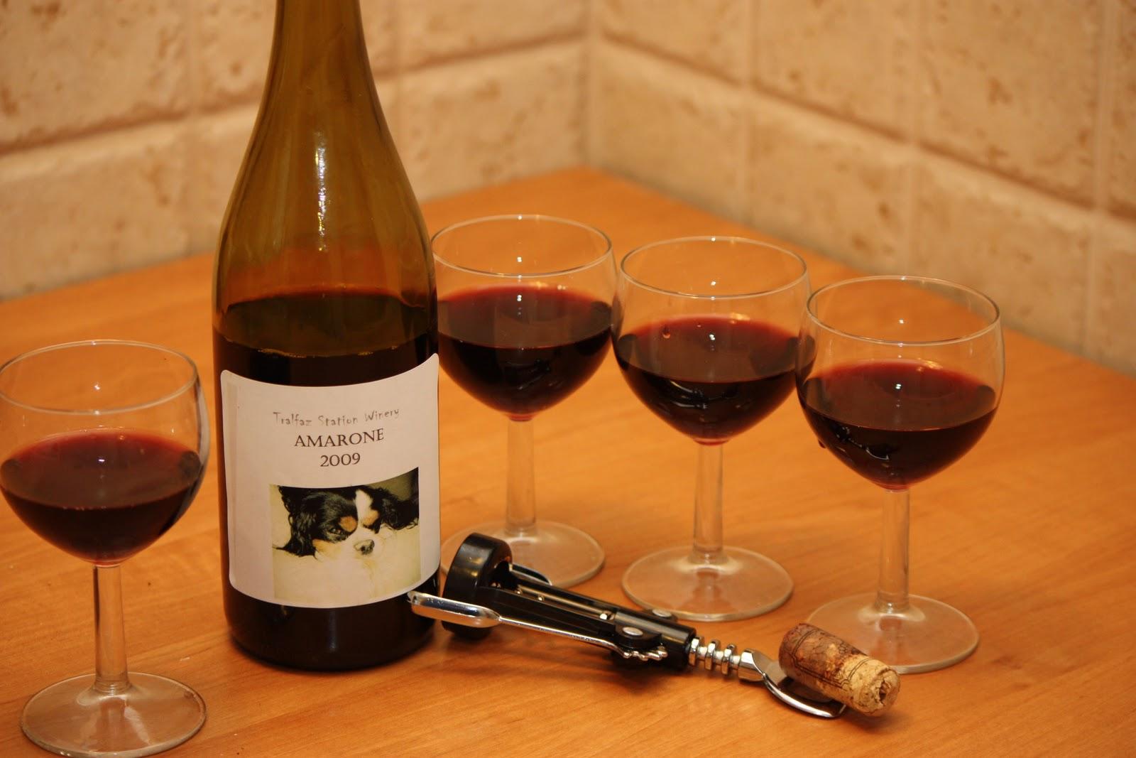 Wine from raisins at home: recipe 1