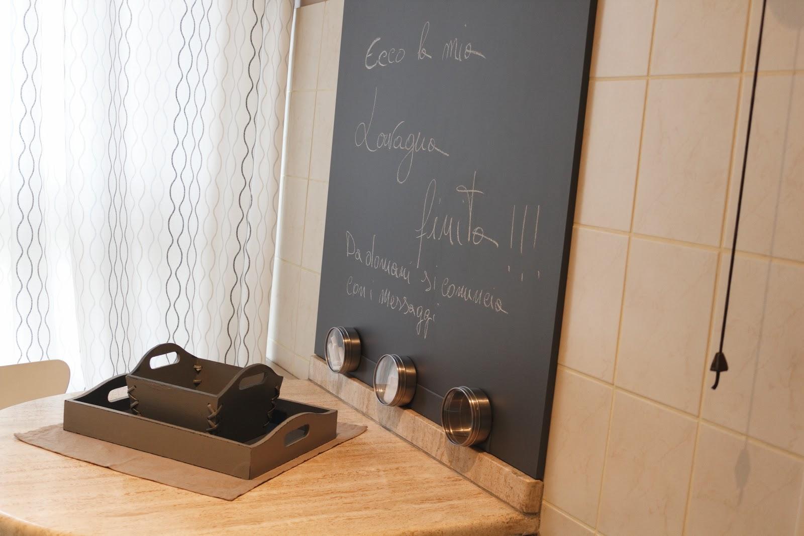 Parete magnetica ikea tc71 regardsdefemmes - Lavagna magnetica da cucina ...