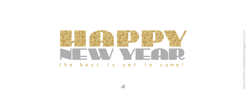 LostBumblebee ©2013 NEW YEARS FACEBOOK COVER IMAGES