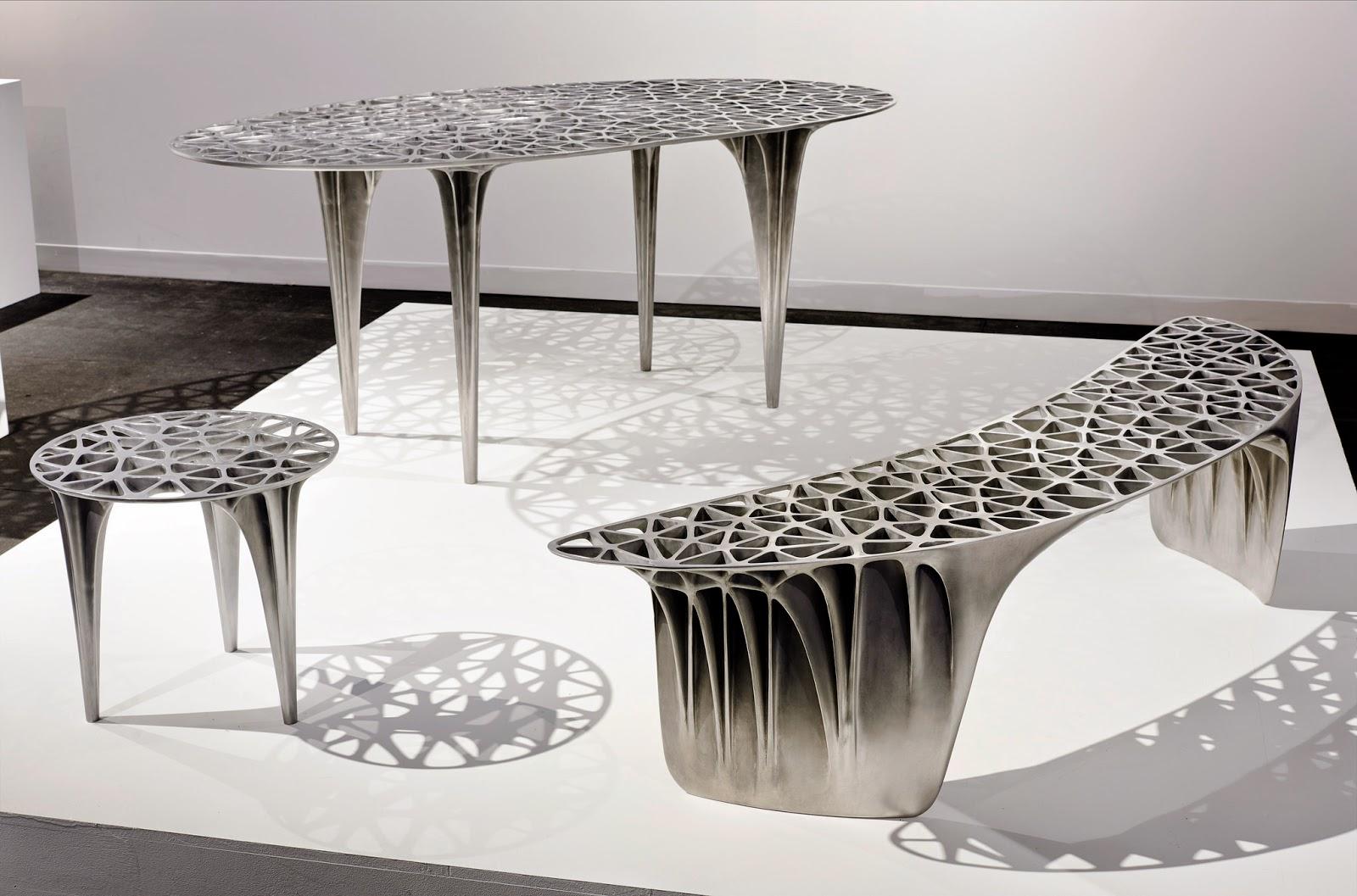 Moto-Mucci: ART&DESIGN: Trusswork Furniture of Janne Kyttanen