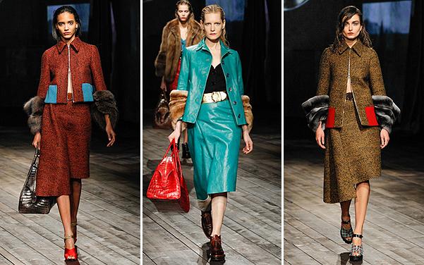 Prada Lookbook. Fall 2013-2014