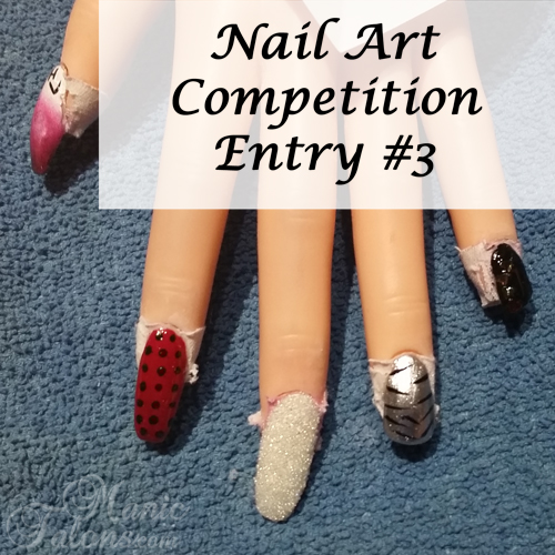GCI Valentine's Day Nail Art Competition Entry 3