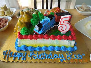 Happy Birthday Thomas Disgusting Cake