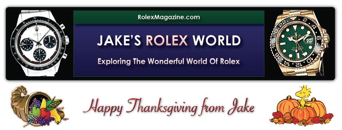 Welcome To RolexMagazine.com...Home Of Jake's Rolex World Magazine..Optimized for iPad and iPhone