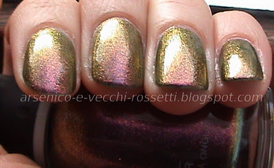 Orly Space Cadet Cosmic FX swatch