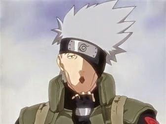 Wajah Kakashi Hatake digelar Naruto Art Exhibition