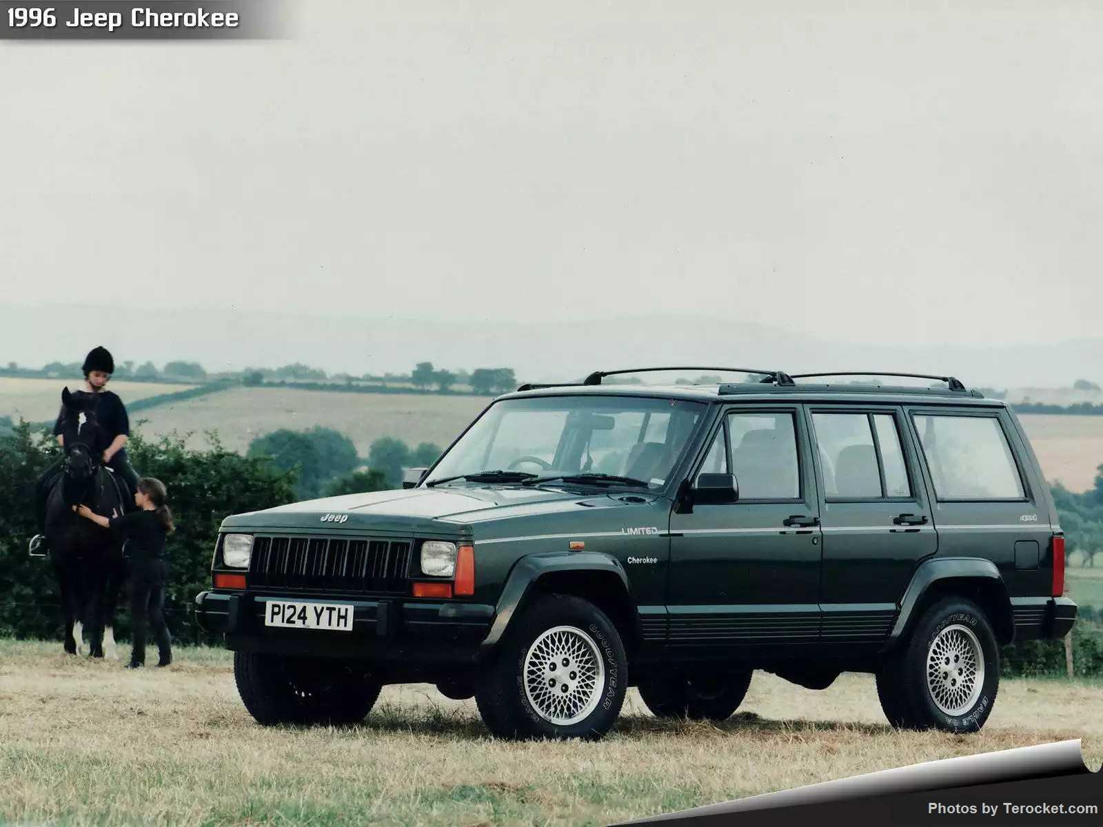 Hình ảnh xe ô tô Jeep Cherokee UK Version 1996 & nội ngoại thất