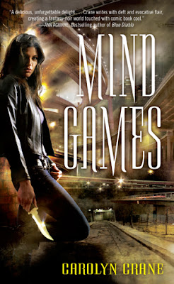 Book cover of Mind Games by Carolyn Crane (Disillusionists Book #1)