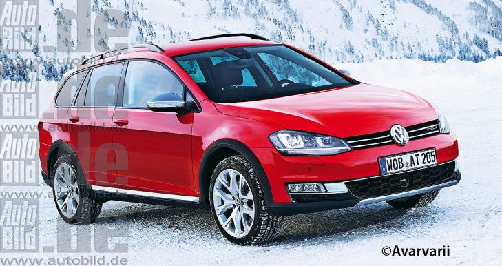 first pictures of the vw golf vii alltrack 2014 by html