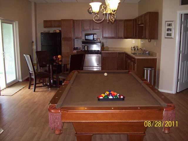 Mike And Lisas World Chapter How To Seal A Driveway And A - How to put a pool table together