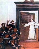 ilustração - O Martírio de Joana Angélica